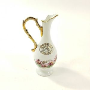Bone China by Audre Burbank Mini Vase Water Pour